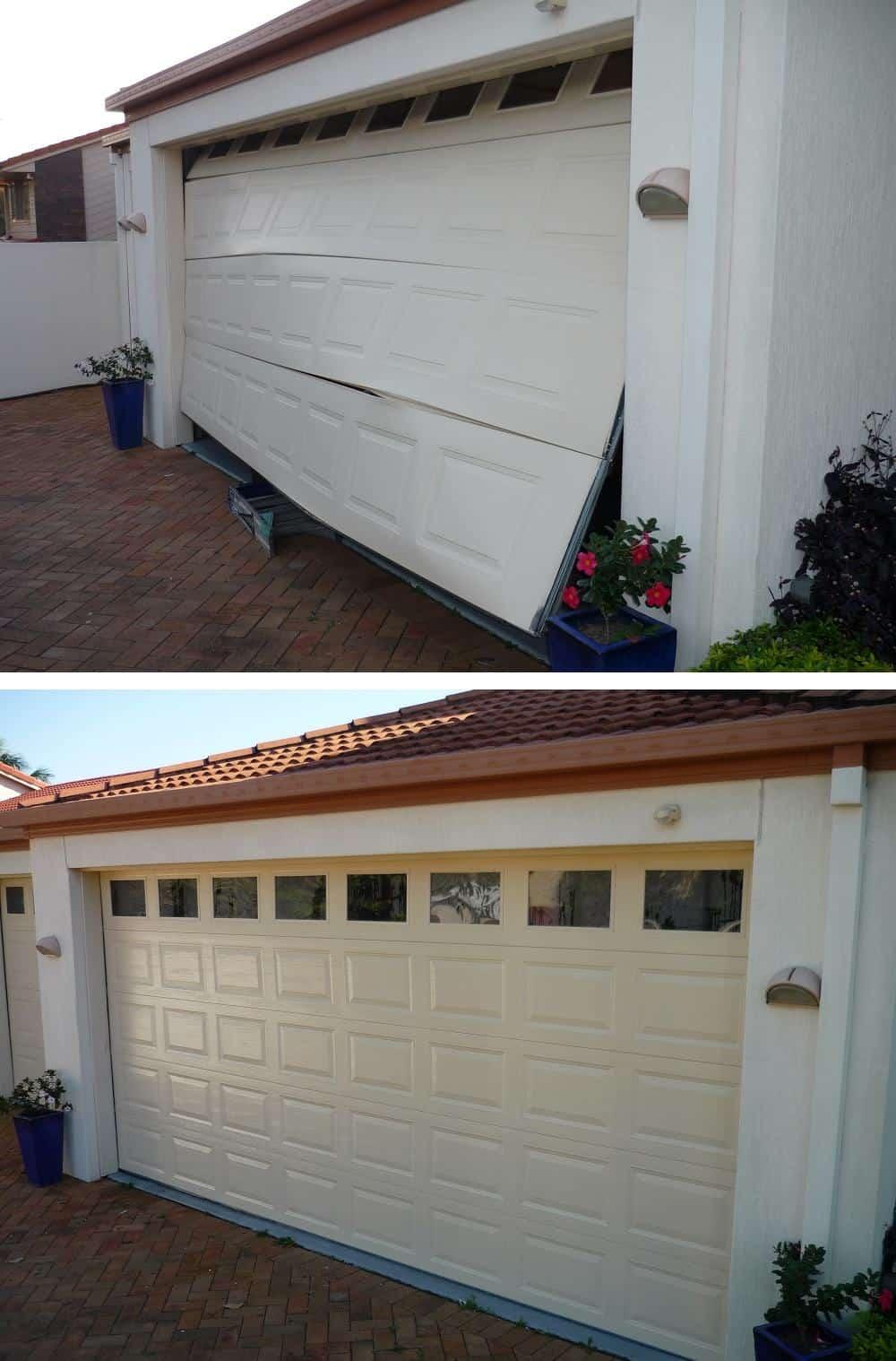 Befire and after gallery garage doors doors direct for Garage door gallery