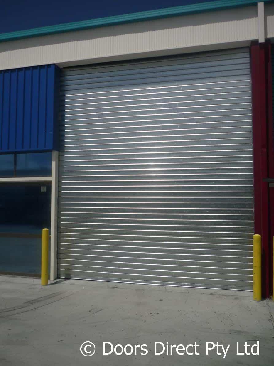 Roller Shutter Gal 115 Slat Doors Direct